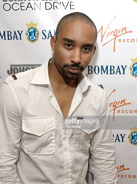 Johnta Austin during Virgin Records and Bombay Sapphire Host a Showcase for Johnta Austin at H2O Restaurant and Lounge in Washington DC United States