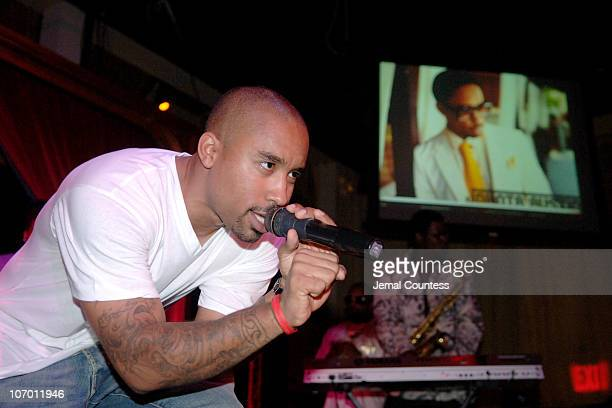 Johnta Austin during Virgin Records with Jermaine Dupri and GrooveVoltcom host exclusive showcase for Johnta Austin at Show in New York City New York...