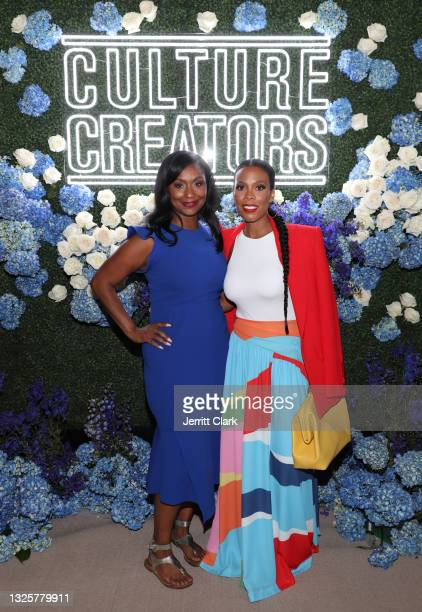 Joi Brown and Ingrid Best attend the Culture Creators Innovators & Leaders Awards at The Beverly Hilton on June 26, 2021 in Beverly Hills, California.