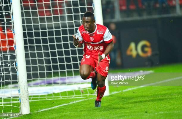 Joie Abdul Majeed WARIS Valenciennes / Rennes 28e journee Ligue 1 Photo Dave Winter / Icon Sport