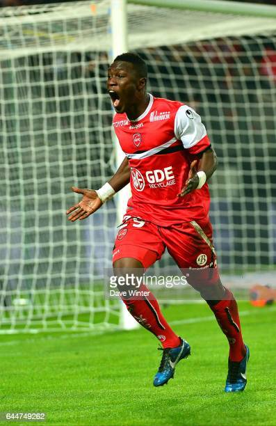 Joie Abdul Majeed WARIS Valenciennes / Bastia 20e journee Ligue 1 Photo Dave Winter / Icon Sport