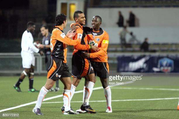 Joie Alaixys ROMAO Lorient / Vannes 32e Finale Coupe de France