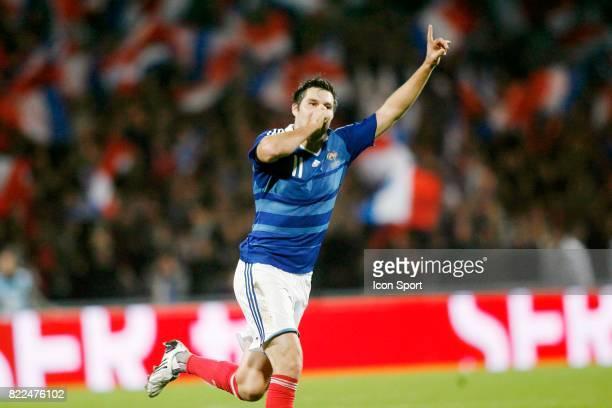 Joie Andre Pierre GIGNAC France / Iles Feroe Qualifications Coupe du Monde 2010 Guingamp