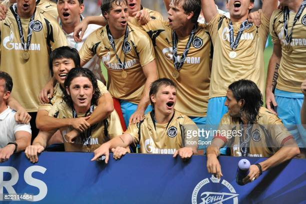 Joie Andrei ARSHAVIN / Zenith Saint Petersbourg Manchester United / Zenith Saint Petersbourg SuperCoupe d Europe Monaco