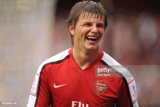 Joie Andrey ARSHAVIN Arsenal / Atletico de Madrid Emirates Cup