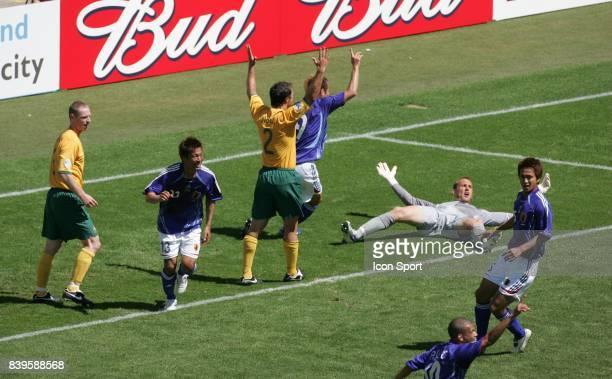 Joie Apres le but du Japon Australie / Japon Coupe du Monde 2006