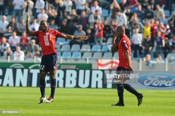 Joie Aurelien CHEDJOU Lille / Monaco 33eme journee de Ligue 1 Stadium Nord Villeneuve d'Ascq