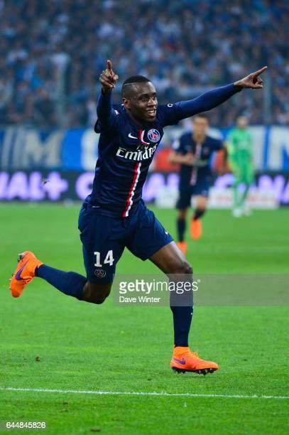 Joie Blaise MATUIDI Marseille / Paris Saint Germain 31eme journee de Ligue 1 Photo Dave Winter / Icon Sport