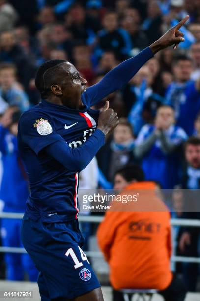 Joie Blaise MATUIDI Marseille / Paris Saint Germain 31eme journee de Ligue 1 Photo Dave Winter / Icon Sport