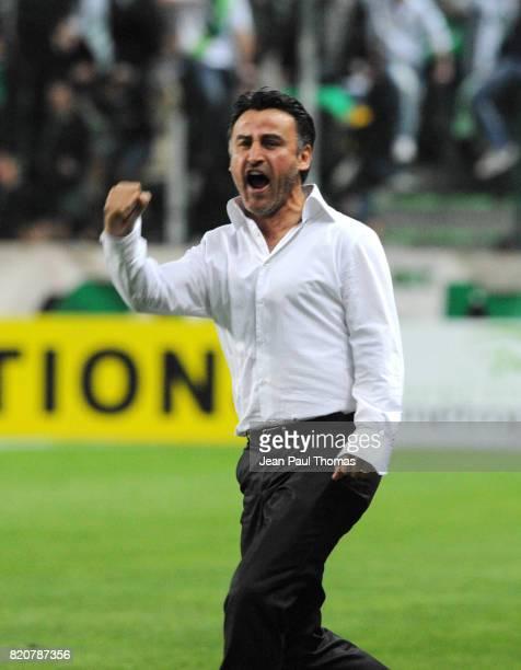 Joie Christophe GALTIER - - Saint Etienne / Nancy - 31e journee Ligue 1,