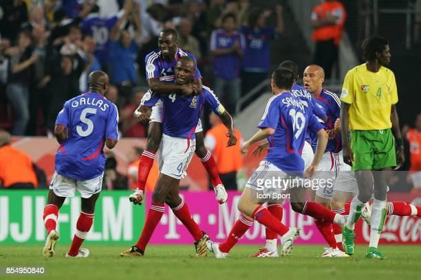 Joie Claude MAKELELE / PAtrick VIEIRA France / Togo Coupe du Monde 2006