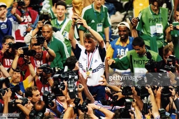 Joie d'Aime JACQUET France / Bresil Finale de la Coupe du Monde 1998 France