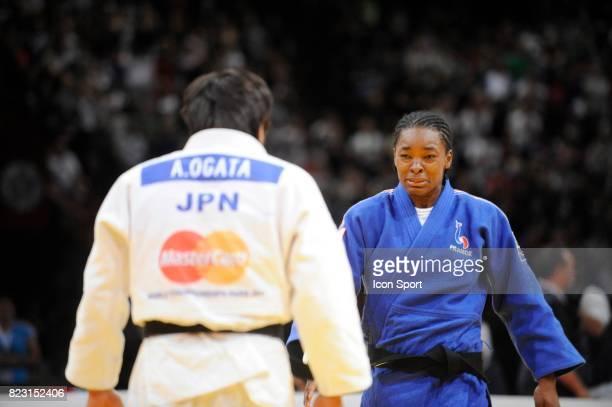 Joie de Audrey TCHEUMEO Finale 78kg Championnats du Monde de Judo 2011 Paris