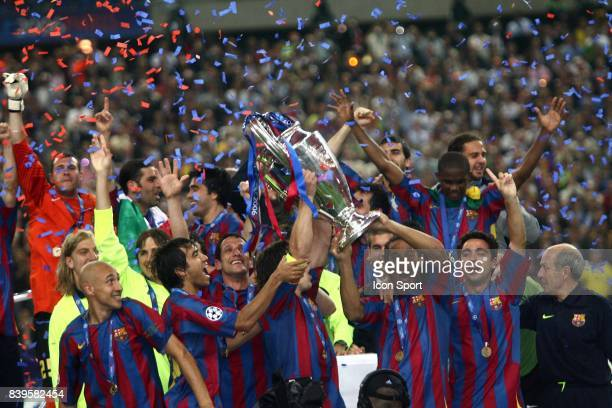 Joie de Barcelone Fc Barcelone / Arsenal Finale de la Ligue des Champions Stade de France Paris