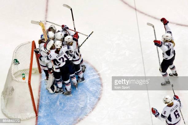 Joie des USA - - USA / Canada - Finale Canada Cup - Vancouver - Canada,
