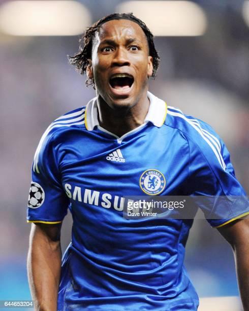 Joie Didier DROGBA - - Chelsea / Liverpool - 1/4 finale Champions League -Stamford Bridge - Londres, Photo: Dave Winter / Icon Sport