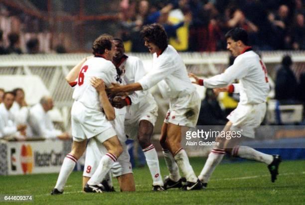 Joie du Milan AC - Zvonimir BOBAN - - PSG / Milan AC - Champions League, Photo: Alain Gadroffre / Icon Sport