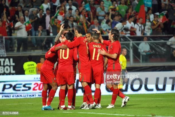 Joie du Portugal Portugal / Malte Qualifications Coupe du Monde 2010 Estadio D Afonso Henriques Guimaraes