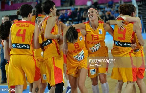 Joie Espagne - - Espagne / Serbie - 1/2Finale - Championnat d'Europe Feminin 2013 -Orchies, Photo: Dave Winter / Icon Sport