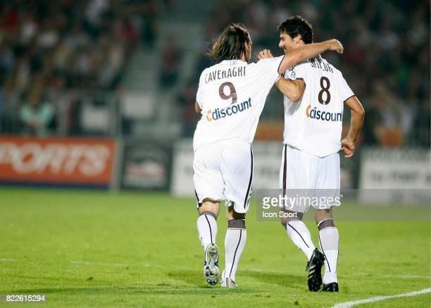 Joie Fernando CAVENAGHI / Yoann GOURCUFF Boulogne / Bordeaux 6e journee Ligue 1