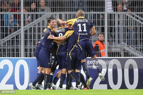 Joie Franck DJA DJEDJE Arles Avignon / Lyon 10e journee Ligue 1