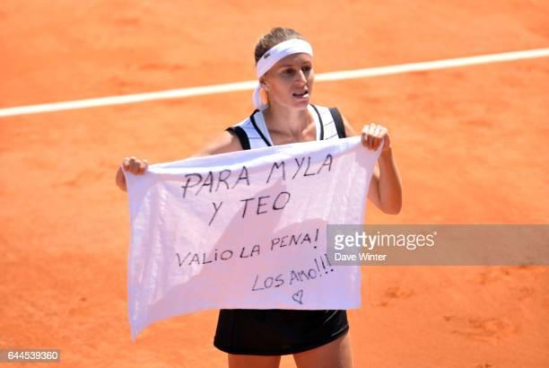 Joie Gisela DULKO - - Roland Garros 2011, Photo : Dave Winter / Icon Sport