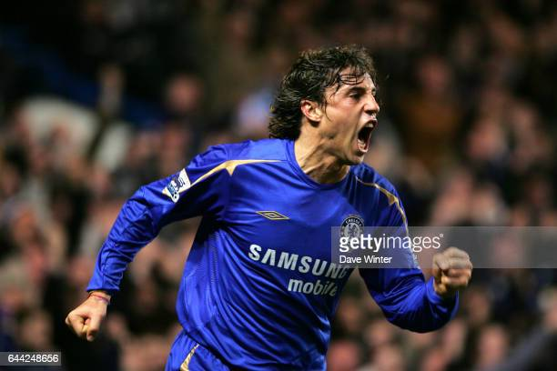 Joie Hernan CRESPO Chelsea / Liverpool 25e journee Premier League Photo Dave Winter / Icon Sport