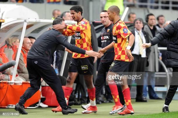 Joie Issam JEMAA Lens / Strasbourg 31e journee Ligue 2