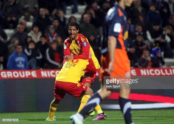 Joie Issam JEMAA Montpellier / Lens 28eme journee de Ligue 1