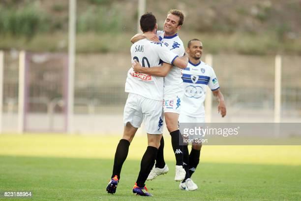 Joie Jerome ROTHEN / Matthieu SANS - - Istres / Bastia - Coupe de la Ligue 2011/2012 -