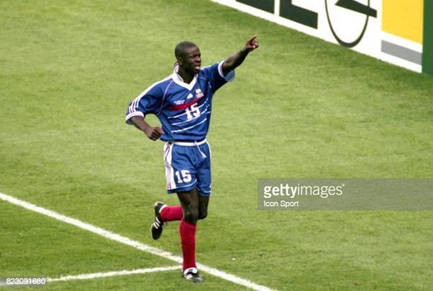 Joie Lilian THURAM France / Croatie 1/2 Finale de la Coupe du Monde 1998 France