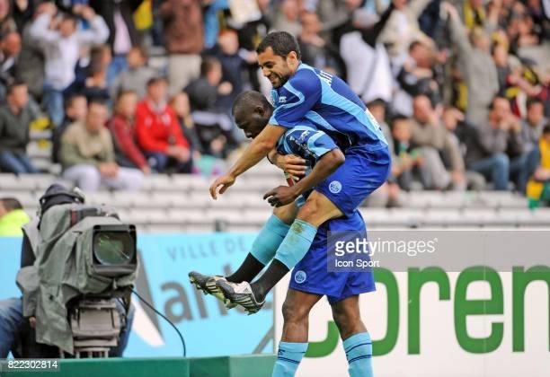 Joie Mamadou DIALLO / Jamel AIT BEN IDIR Nantes / Le Havre 34e journee Ligue 1