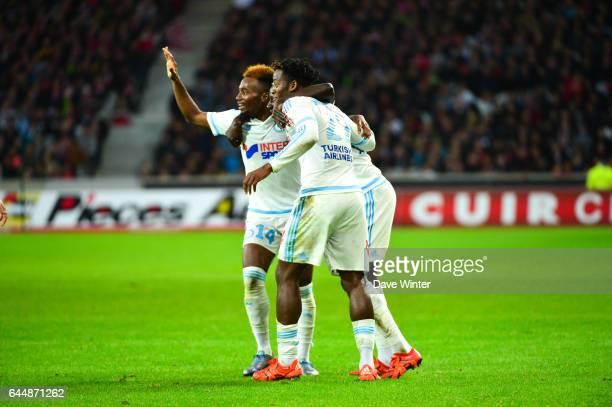Joie Michy BATSHUAYI Lille / Marseille 11eme journee de Ligue 1 Photo Dave Winter / Icon Sport