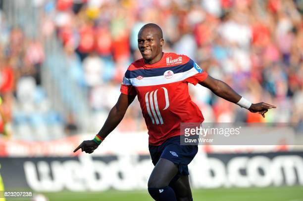 Joie Moussa SOW Lille / Rennes 9e journee Ligue 1