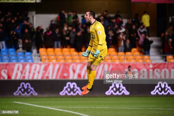 Joie Paul BERNARDONI Troyes / Bastia 18eme journee de Ligue 1 Photo Dave Winter / Icon Sport