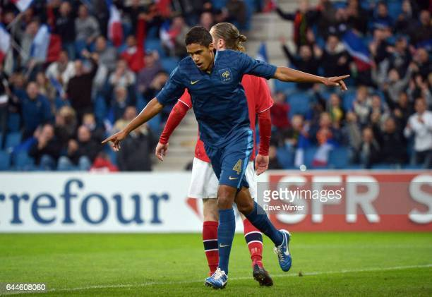 Joie Raphael VARANE France / Norvege Football Espoirs Barrages Euro 2013 Photo Dave Winter / Icon Sport