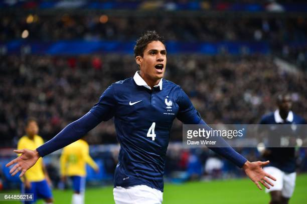 Joie Raphael VARANE France / Bresil Match Amical Photo Dave Winter / Icon Sport