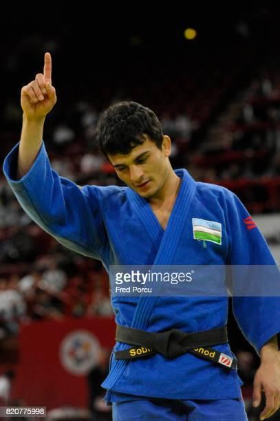Joie Rishod SOBIROV 60kg Tournoi de Paris 57kg Judo Paris