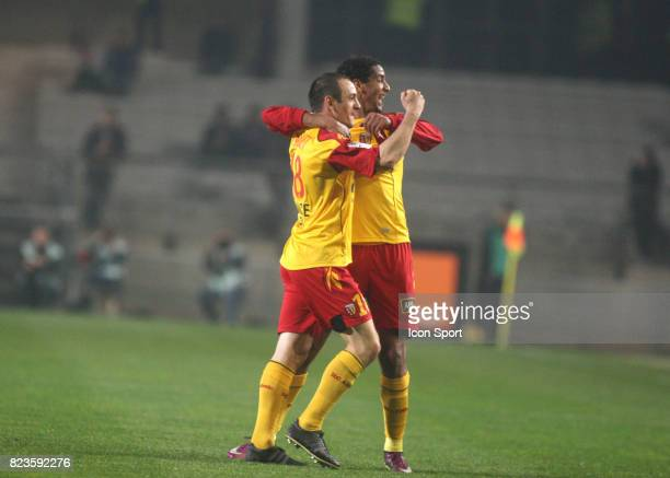Joie Sebastien ROUDET / Issam JEMAA Montpellier / Lens 28eme journee de Ligue 1