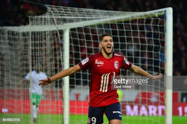 Joie Yassine BENZIA Lille / Saint Etienne 16eme journee de Ligue 1 Photo Dave Winter / Icon Sport