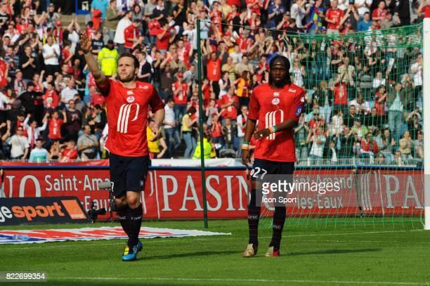 Joie Yohan CABAYE Lille / Monaco 33eme journee de Ligue 1 Stadium Nord Villeneuve d'Ascq