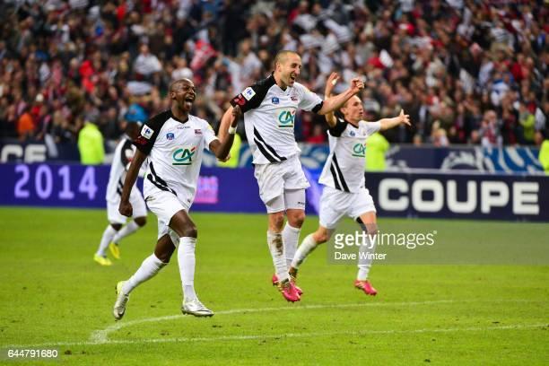 Joie Younousse SANKHARE / Lionel MATHIS Rennes / Guingamp Finale Coupe de France Photo Dave Winter / Icon Sport