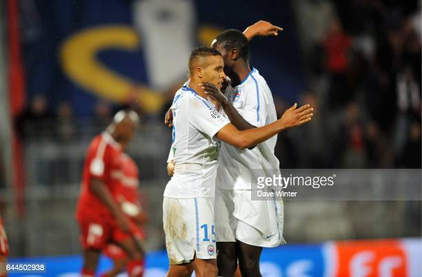 Joie Youssef EL ARABI Valenciennes / Caen 8e journee Ligue 1 Photo Dave Winter / Icon Sport