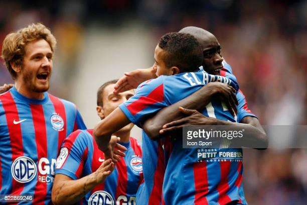Joie Youssef EL ARABI Caen / Lyon 2eme journee de Ligue 1 Stade d Ornano Caen