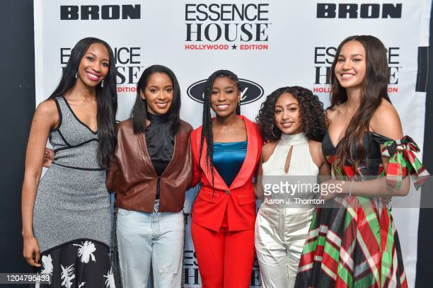 JoiMarie McKenzie Senior Entertainment Editor of Essence Rechelle Dennis Founder of Girls United Actress Lyric Ross Actress Lexi Underwood and...