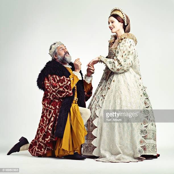join me on the throne! - 17th century style stock photos and pictures