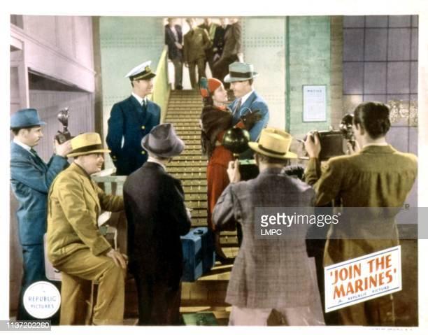 Join The Marines lobbycard Reginald Denny June Travis Paul Kelly 1937