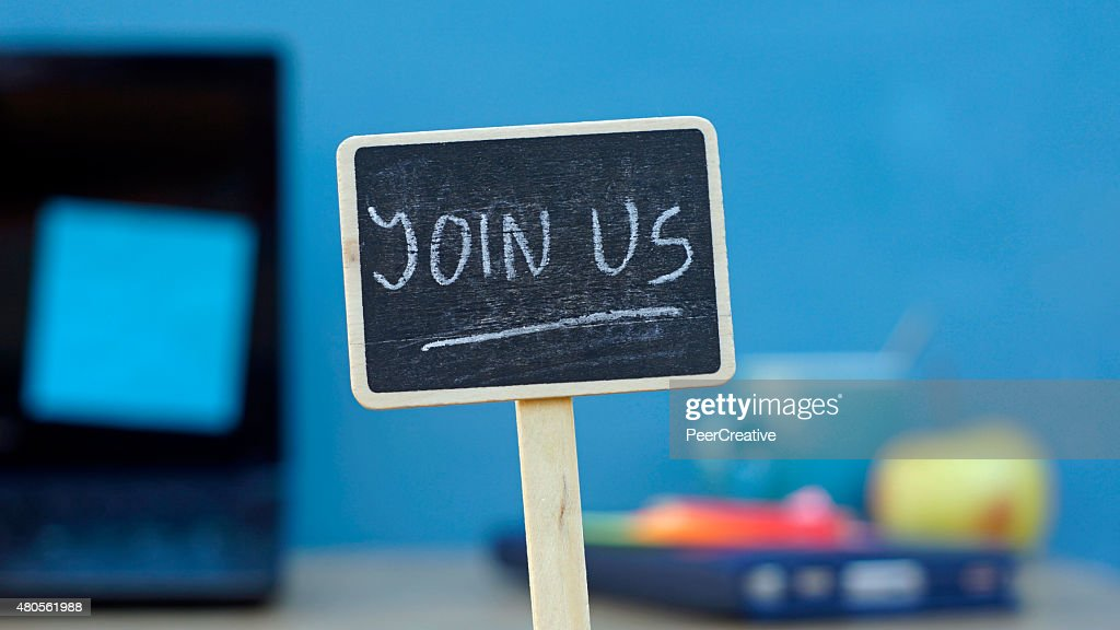 Join us : Stock Photo