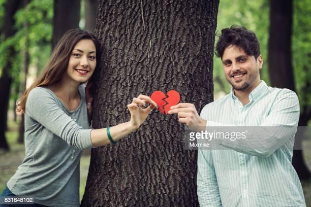 Gebrochenes Herz verbinden
