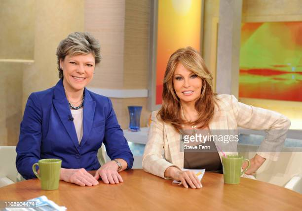 Joining the GMA Morning Mix are Cokie Roberts and Raquel Welch on GOOD MORNING AMERICA 4/2/10 airing on the ABC Television Network GM10 talent COKIE...